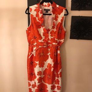 ❤️HOST PICK Red & white Jessica Howard Poppy dress